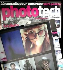 """Phototech Oct-Nov 2012 - Concours """"autoportrait"""" (Marie Lisch) Tags: magazine photo autoportrait concours phototech parution"""