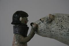 When I first met a Polar bear (danahaneunjeong) Tags: bear ceramic doll polar
