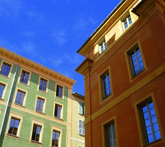 Windows in Nice (McArdle's5) Tags: blue windows france nice cotedazur bluesky southoffrance frenchriviera france2011