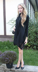 IMG_0664 (Natalie Ast) Tags: black fashion japan dark shoes dress purple heart chiffon nails jersey clutch satin stilettos sheer studded drapey nowistyle