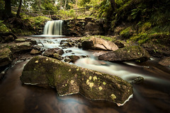 Catadupa (Tom Whitfield) Tags: york green water river waterfall rocks stream beck yorkshire cleveland north wideangle moors flowing leafy teesside hitech density manfrotto haida neutral sigma1020mm osmotherly nd8 rebelxti canoneos400d tomwhitfield