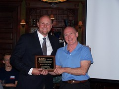 "Bob Greene thanks Nick Alley with plaque • <a style=""font-size:0.8em;"" href=""http://www.flickr.com/photos/78874535@N07/8051574059/"" target=""_blank"">View on Flickr</a>"