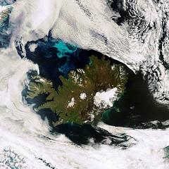Earth from Space: Iceland (europeanspaceagency) Tags: iceland european space glacier agency esa langjokull phytoplankton meris europeanspaceagency envisat hofsjokull vatnaglacier
