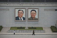 The Leaders are Benevolently Watching You (smokejumping) Tags: photo nikon contest korea oasis northkorea pyongyang dprk 2013 d80 democraticpeoplesrepublicofkorea coreadelnord  chosnminjujuiinminkonghwaguk hermitkingdom sergiocanobbio
