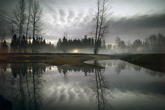 (sparth) Tags: leica reflection water landscape washington dusk redmond wa washingtonstate m9 2011 leicam9