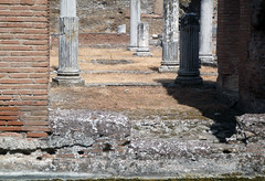 """Maritime Theater,"" Hadrian's Villa, view of axis"
