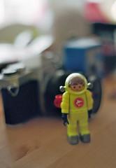Scubacam (-masru-) Tags: film 35mm kaiserslautern kamera taucher kodakportra400 kleinbild asahipentaxspotmaticsp500