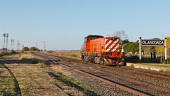 Manobras em Olascoaga (Nohab0100) Tags: argentina station 1200 locomotive cp estação locomotiva 1207 ferrobaires olascoaga brissoneaulotz