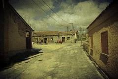 Calle que da a la plaza