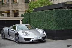 918 S (Beyond Speed) Tags: porsche 918 spyder supercar automotive supercars automobili nikon v8 hybrid london knightsbridge