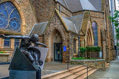 TG 2016 07 04 041 (pugpop) Tags: pittsburgh pennsylvania hdr downtown statue resurrection firstlutheranchurch