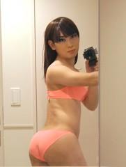 DSC08809 (mimo-momo) Tags: crossdressing crossdresser crossdress transvestite japanese underwear