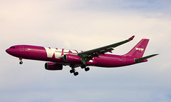 WOW Airbus A330-300 TF-GAY (NE Trains & Aviation) Tags: wow airlines airbus a330 a330300 bos boston logan airport jet airliner jetliner airplane plane sky purple