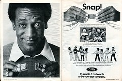 1976 Ford Advertisement with Bill Cosby Hot Rod November 1976 (SenseiAlan) Tags: 1976 ford advertisement with bill cosby hot rod november