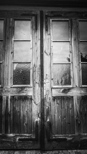 Old fire station doors at the Göttweig Abbey