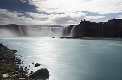 Godafoss (M.P. Melin) Tags: godafoss islandia iceland cascada waterfall landscape paisaje seda larga exposicin