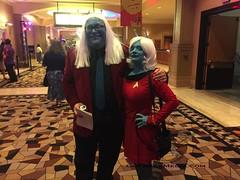 Star Trek  convention 2016-19 (GoFreak Media) Tags: lasvegas startrek star trek convention gofreakmedia data spock klingon thenextgeneration kirk jonjonthephenomenon