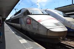 SNCF TGV 4503 (380006) (Will Swain) Tags: paris gare de lyon 18th july 2016 train trains rail railway railways transport travel vehicle vehicles europe france french voyage capital city centre parisien ile ledefrance le socit nationale des chemins fer franais  grande vitesse sncf tgv 4503 380006
