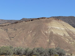 042-19 2007 USA Tour, Oregon, John Day Fossil Beds, Painted Hills Unit (Aristotle13) Tags: 2007 usa tour oregon paintedhills