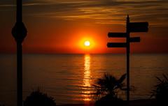 Aberystwyth Sunset (rodriguesfhs) Tags: aberystwyth wales welsh cymru cardigan bay sea ocean beach water sun sunset evening summer ceredigion