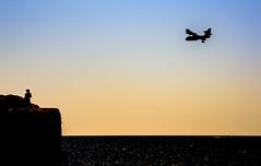 Avión s'Almunia (rodrigomezs) Tags: mallorca cala playa mar mediterraneo azul turquesa escapada vacaciones best mejor verano
