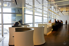 Solus chairs (A. Wee) Tags: cathaypacific  thebridge  lounge hongkong hkg    china