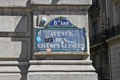IMG_5345 (Margaux SP) Tags: paris ville summer holiday vacances t panneau champs lyses autocollant vieux hold vintage couleur