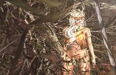 Wild free spirit (Alexa M.) Tags: littlebranch una tribal fantasy roleplay women outdoors girl wild mushilu magika fantasycollective essences