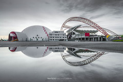 Taichung Intercontinental Baseball Stadium (Yen ZOO) Tags:  inverted image baseball stadium