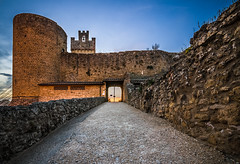 The Fortress of Staggia (piero_zampa) Tags: fortress tuscany travel castle architettura rovine bastione