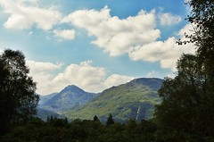Arrochar Alps: Ben Vane (brightondj - getting the most from a cheap compact) Tags: robroysview trossachs scotland hills mountains firstwalk landscape trees woods lochlomond arrocharalps hydroelectricpower inveruglas benvane