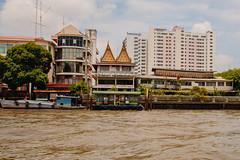From the Orange river boat Taxi Bangkok (21mapple) Tags: bangkok thailand chaophrayariver river thai