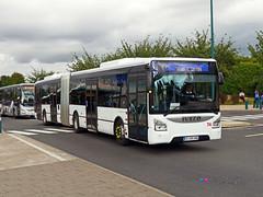 Iveco Urbanway 18 - Disneyland 74 (Pi Eye) Tags: bus autobus articul gelenk disneyland eurodisney disney navette shuttle irisbus iveco urbanway urbanway18