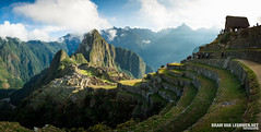 Sunrise @ Machu Picchu (Bram van Leeuwen.net | Fotografie) Tags: 2016 backpacken bram van leeuwen bramvanleeuwennet fotografie maasland peru reis reisfotografie travel photography machu picchu aguas calientes world wonder