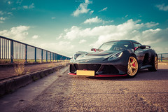Lotus Exige LF1 (EG Automotive Photography) Tags: lotus exige s lf1 elise cup car automotive supercar sportscar sports light black gold red motorsport luxembourg nikon d5500 egphotography rookie shooting photo photography uk racingcar track trackday sun sunset outdoor cloud landscape bridge