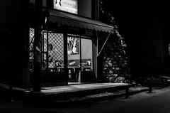 Shop (Angelo Pantazis) Tags: blackandwhite bw streetphotography nikon light street d5100