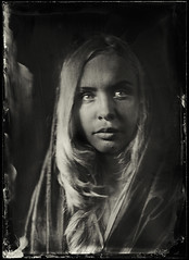 Sonya (anton_park) Tags: ambrotype wetplatecollodion analog alternativeprocess largeformat 13x18 5x7 portrait fkd industar5145210 vintage noiretblanc bw blackandwhite sepia monochrome