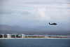 Helicopter leaving the Bay (Anna_Heaton) Tags: helicopter skyline sandiego sandiegobay