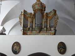 Adelhauser Klosterkirche (thomaslion1208) Tags: freiburg kirche kloster adelhauserkloster cathetral church orgel kerk badenwuertenberg