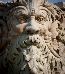 Rebirth Guardian (matt_huff_photography) Tags: park architecture cincinnati ohio midwest stone masonry old carve