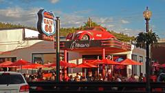 Route 66, Wiliams, AZ (V-rider) Tags: rhm ralph vrider97 jane matthew jade phx williams az arizona train town i40 bypassed travel vacation adventure grandcanyon railway september 2016 route 66 cruisers cafe