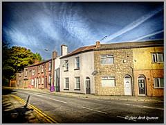 TOWN ROW (Derek Hyamson (5 Million views)) Tags: hdr townrow westderby liverpool