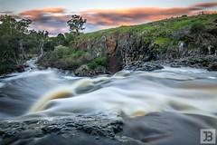 Top of the Falls (Joel Bramley) Tags: water waterfall river long exposure victoria sunset australia