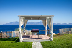 Paradise (Chris Buhr) Tags: paradies paradise kos greece griechische inseln griechenland urlaub reise reisefotografie travel liege bett meer sea holiday leica mp