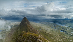 Suilven, Lochinver, Assynt, Scotland (sven483) Tags: mist mountain scotland highlands ridge matterhorn lochinver suilven assynt mygearandme mygearandmepremium