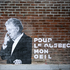 lections - No 3 ( CHRISTIAN ) Tags: streetart art poster square rouge nikon montral protest qubec politique printemps rable tudiants carr lections casseroles charest ducation politicalaction rvolte activisme