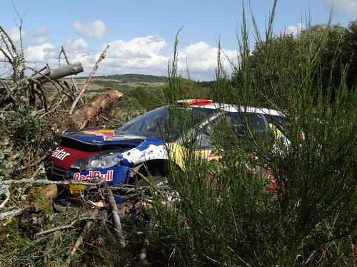 ADAC Rallye Deutschland 2012 340 WP9 Arena Panzerplatte - Citroen DS3 WRC - Neuville
