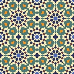 Fez Arab Seamless Tile (azat1976) Tags: old detail texture wall architecture tile ceramic colorful pattern floor mosaic decorative islam traditional decoration craft nobody architectural arabic morocco glaze marrakesh aged ornate decor seamless moroccan islamic decorated tiled illustrationandpainting walltile