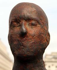 Antony Gormley - Event Horizon - London 2007 (stevedexteruk) Tags: light london art public statue blind head horizon event antony gormley