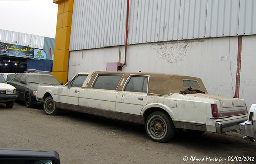 Lincoln Town Car Limousine 1st Generation 1985 1989 A Photo On